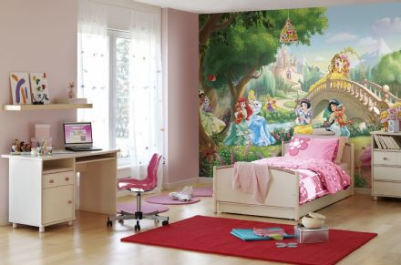 Princess Palace Pets wall mural wallpaper